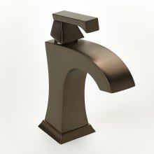 Single Lever Lavatory Faucet Leyden Series 14 Bronze