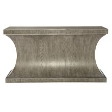 Montego Console Table in Rustic Gray