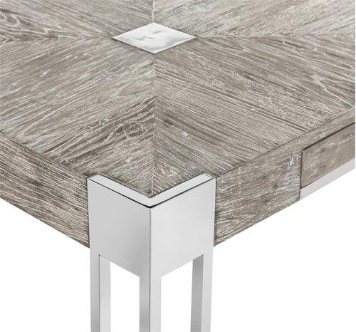 Lazarus Desk - Icy Grey