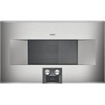 Gaggenau400 series 400 series speed microwave oven Stainless steel-backed full glass door Right-hinged Controls at the bottom