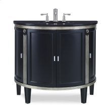 Park Avenue Sink Chest - Black