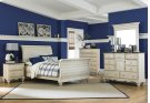Pine Island 5pc Queen Sleigh Bedroom - Old White Product Image