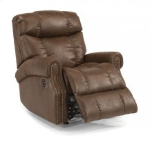 Morrison Fabric Power Rocking Recliner