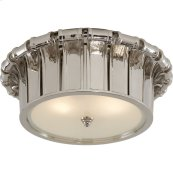 Visual Comfort AH4010PN-FG Alexa Hampton Vivien 2 Light 13 inch Polished Nickel Flush Mount Ceiling Light