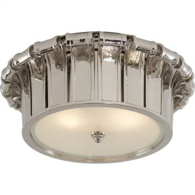 Visual Comfort AH4010PN-FG Alexa Hampton Vivien 2 Light 13 inch Polished Nickel Flush Mount Ceiling Light