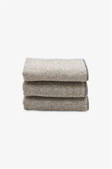 Tasha Hand Towel Black/Linen STYLE: THHT03