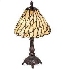 "13""H Willow Jadestone Mini Lamp"