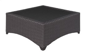 Coffee Table Aluminum Slat Top