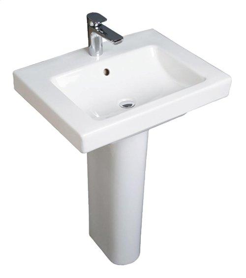 Washbasin Angular - White Alpin