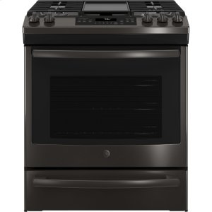 "GEGE(R) 30"" Slide-In Front Control Convection Gas Range"
