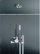 One-handle build-in mixer with ceramic disc technology - Grey Product Image