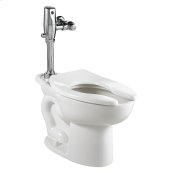 Madera 16 gpf ADA Toilet with Selectronic Exposed Battery Flush Valve System - White