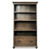 Cordero Bookcase Aged Oak finish Product Image