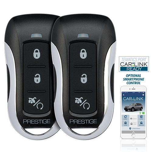 One-Way Remote Start & Keyless Entry System with up to 1,500 Feet Operating Range