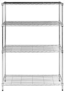 Delta 4 Tier Chrome Wire Rack (35 In W X 13 In D X 53 In H) - Chrome Plating Product Image