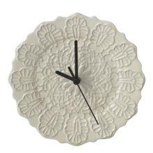 Lace Pattern Plate Clock.