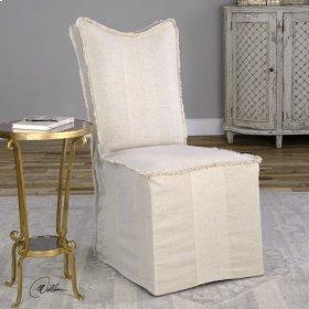 Lenore, Armless Chair, Flax, 2 Per B