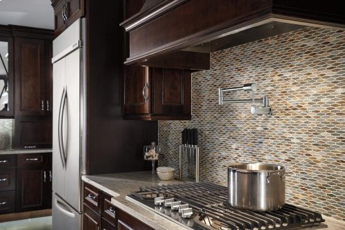 Stainless Contemporary Wall Mount Pot Filler