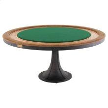 Poker Table  Raw Oak