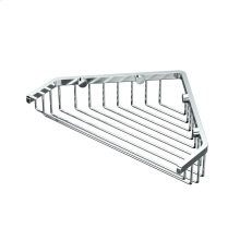 "Corner Shower Basket 9 1/4""W in Chrome"
