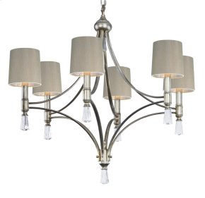 Regal 6-Light Pendant with Shade