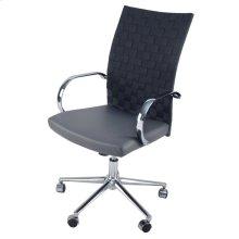 Rune PU Office Chair, Rocky Gray