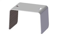 Stool in Solid Wood and Corian®