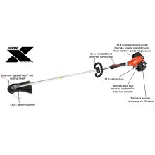 SRM-2620 Gas String Trimmer ECHO X Series