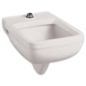 Clinic Wall Mounted Service Sink - White