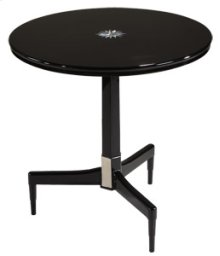 Obsidian End Table