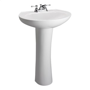 Hampshire 575 Pedestal Lavatory - Bisque Product Image