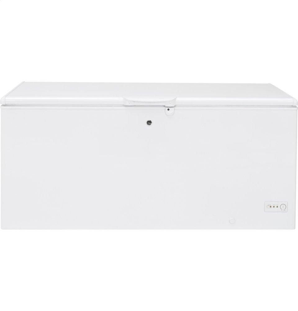 GE(R) 21.7 Cu. Ft. Manual Defrost Chest Freezer