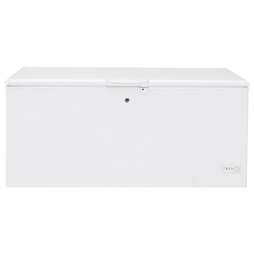 GE® 21.7 Cu. Ft. Manual Defrost Chest Freezer