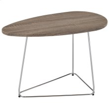 Onyx Accent Table in Driftwood