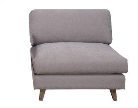 Armless Chair-dune Gray