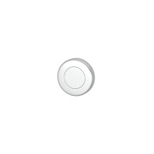 Blank Escutcheons In Bright Chrome