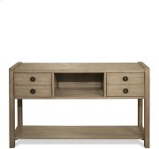 Perspectives Console Table Sun-drenched Acacia finish Product Image