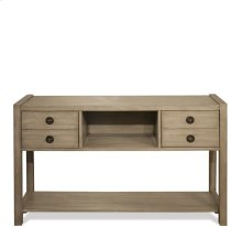 Perspectives Console Table Sun-drenched Acacia finish