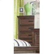Franco Burnished Oak Five-drawer Chest Product Image