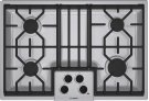 """30"""" Gas Cooktop 500 Series - Stainless Steel NGM5054UC Product Image"""