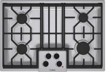 """30"""" Gas Cooktop 500 Series - Stainless Steel NGM5054UC"""