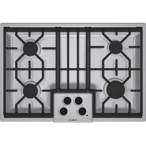 "Bosch30"" Gas Cooktop 500 Series - Stainless Steel NGM5054UC"