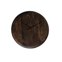 Bentley Clock, Large, Soft Maple #54 Saddle, Olde World A2