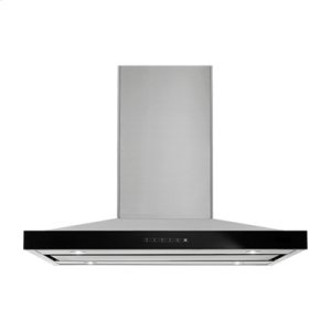 "Jenn-AirLustre Stainless 36"" Pyramid Style Island Mount Canopy Hood"