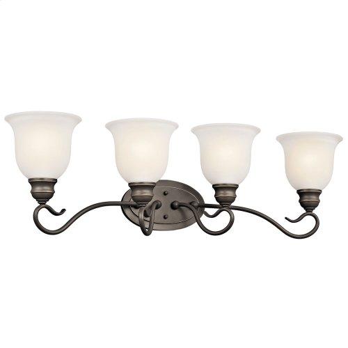 Tanglewood 4 Light Vanity Light Olde Bronze® with LED Bulb