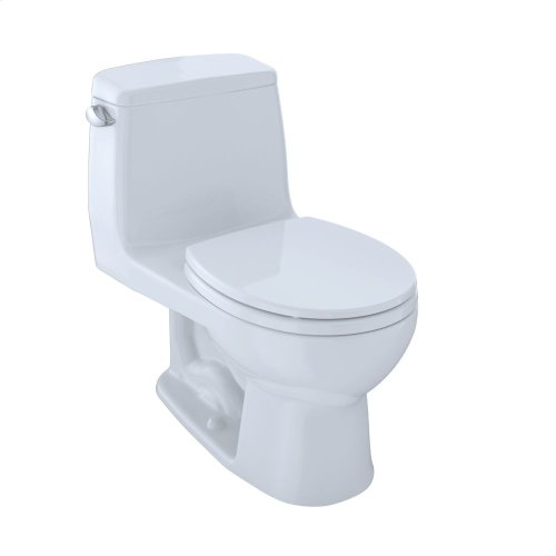 Eco UltraMax® One-Piece Toilet, 1.28 GPF, Round Bowl - Colonial White