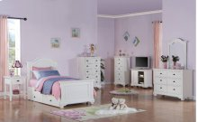 Brook White Youth Bedroom