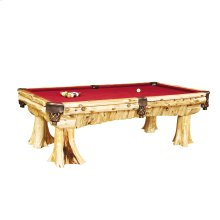 Pool Table - Natural Cedar