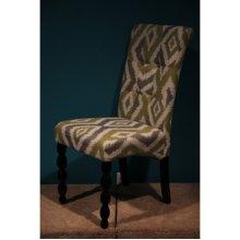 Corbett Green and Grey Parson Chair