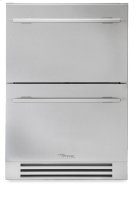 24 Inch Stainless Steel Undercounter Refrigerator Drawer - Stainless Steel Product Image